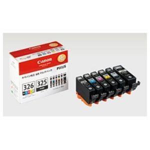インク キヤノン 純正 カートリッジ インクカートリッジ BCI-326+325/6MP インクタンク + マルチパック インク|best-tecc