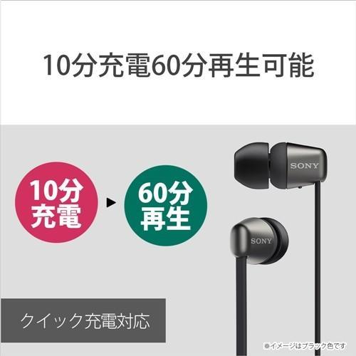ソニー WI-C310 WC ワイヤレスステレオヘッドセット W|best-tecc|04