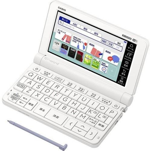 売れ筋 カシオ XD-SX4900-WE 新着 電子辞書 エクスワード EX-word ホワイト 240コンテンツ収録 英語強化 モデル 高校生