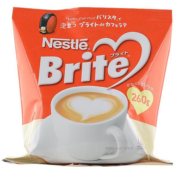 人気ブランド多数対象 ネスレ ブライト 260g コーヒークリーミングパウダー 送料無料カード決済可能