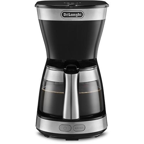 デロンギ ICM12011J-BK アクティブ ドリップコーヒーメーカー インテンスブラック best-tecc