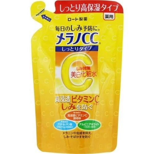 ロート製薬(ROHTO) メラノCC  薬用しみ対策美白化粧水しっとり詰替 (170mL) 【医薬部外品】 best-tecc