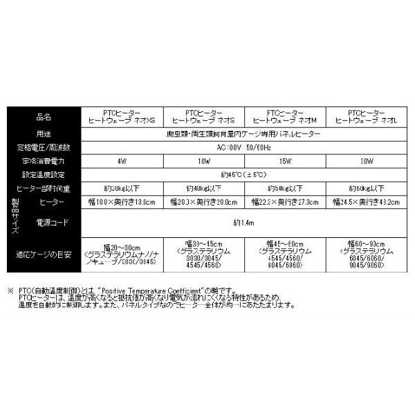 ヒートウェーブ ネオ S (送料激安 DM便(メール便)対応) GEX(ジェックス)|bestfactoryshopping2|03