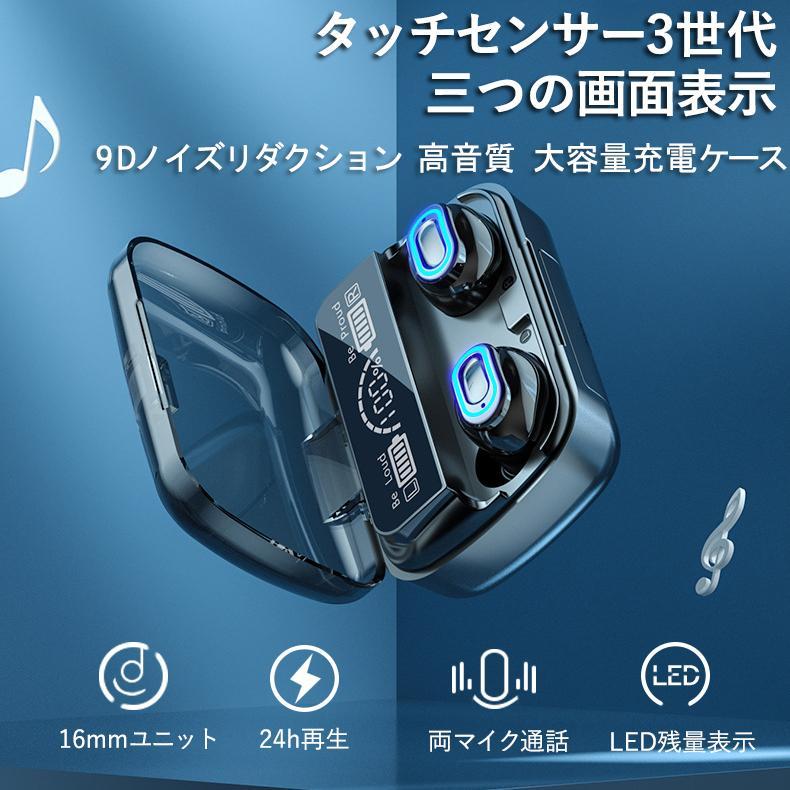 ワイヤレスイヤホン 最新型 ブルートゥースイヤホン Bluetooth5.1 両耳/方耳  iPhone Android対応 スマホ充電 高音質 スポーツ防水 人間工学設計 ギフト bestlife-os 02