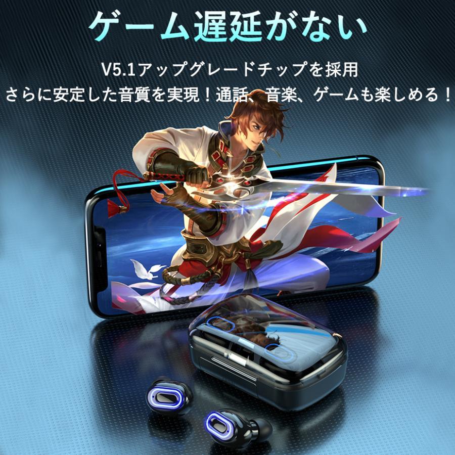ワイヤレスイヤホン 最新型 ブルートゥースイヤホン Bluetooth5.1 両耳/方耳  iPhone Android対応 スマホ充電 高音質 スポーツ防水 人間工学設計 ギフト bestlife-os 16