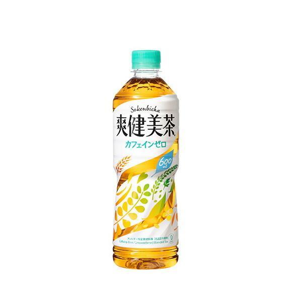 コカ コーラ社製品 爽健美茶 ※数量は48本単位でご注文下さい 超人気 祝日 専門店 600mlPET ペットボトル