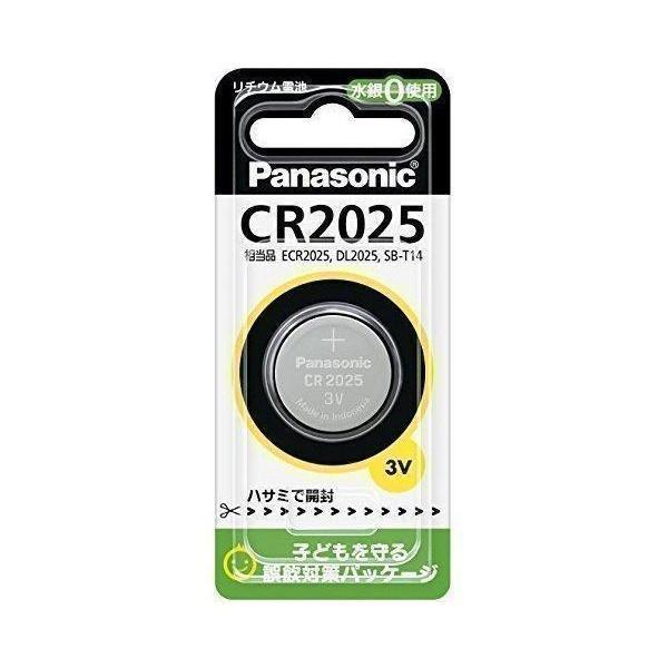 Panasonic CR2025P パナソニック コイン形 1個入 チープ リチウム電池 海外並行輸入正規品