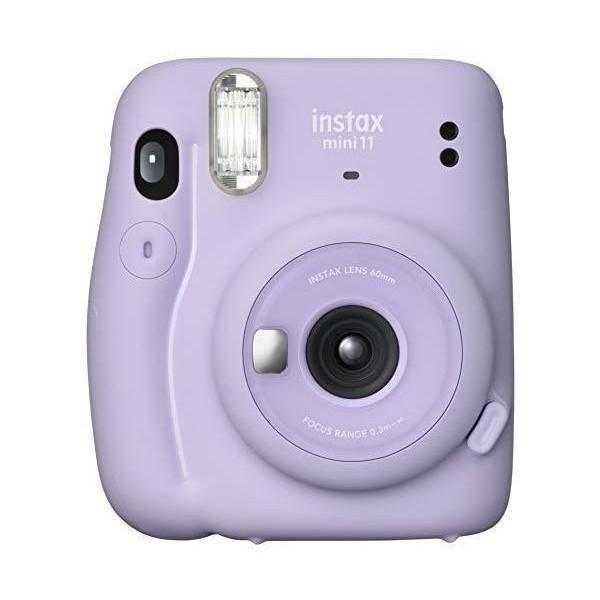 富士フイルム インスタントカメラ まとめ買い特価 チェキ instax mini 11 送料無料新品 ライラックパープル MINI PURPLE FUJIFILM INS