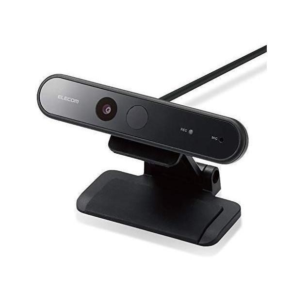 エレコム UCAM-CF20FBBK 送料0円 ブラック WEBカメラ 200万画素 ケーブル長1.5m フルHD マイク内蔵 1080p 限定特価