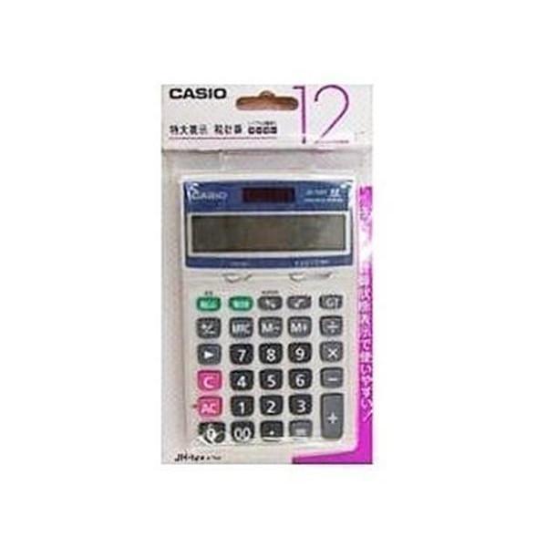 カシオ JH12VTN 電卓 !超美品再入荷品質至上! 70%OFFアウトレット CASIO