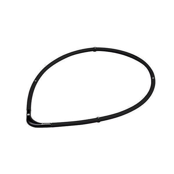 品質保証 ファイテン ネックレス ブラック×ブラック 正規店 RAKUWA 55cm 磁気チタンネックレスS-2 phiten