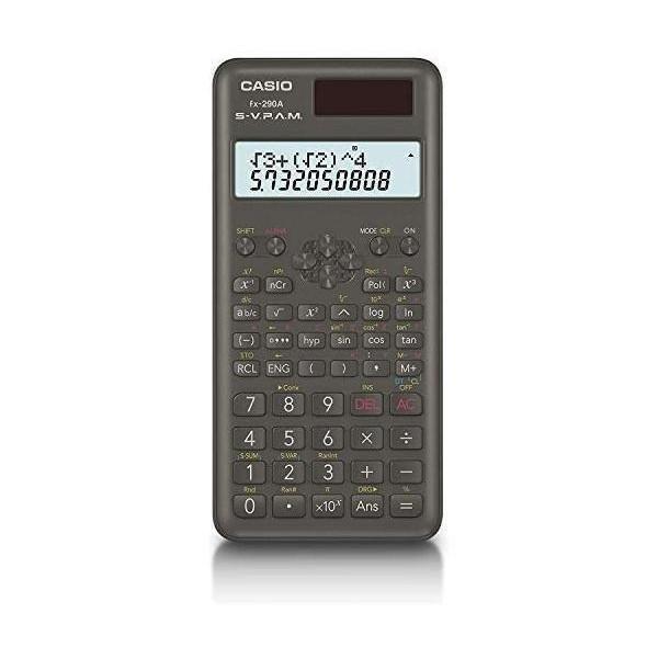 カシオ 毎日続々入荷 fx-290A-N 関数電卓 2桁表示 おすすめ 統計計算 CASIO 199関数 機能
