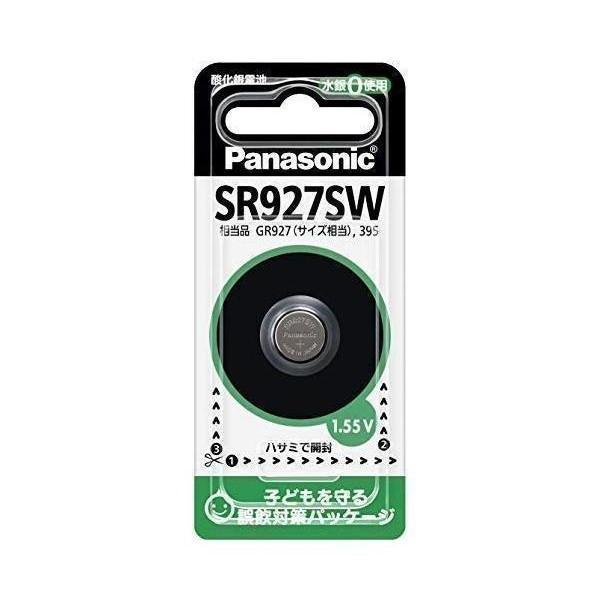 専門店 パナソニック SR-927SW 酸化銀電池 1個入り 流行のアイテム 1.55V Panasonic