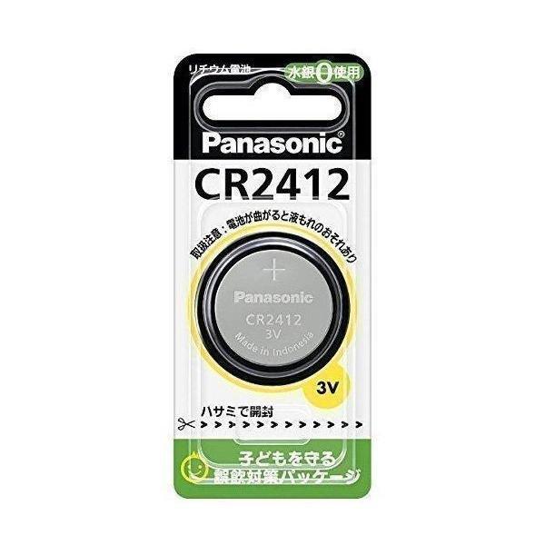 PANASONIC パナソニック CR-2412P 新作販売 贈物 マイクロコイン型リチウム電池
