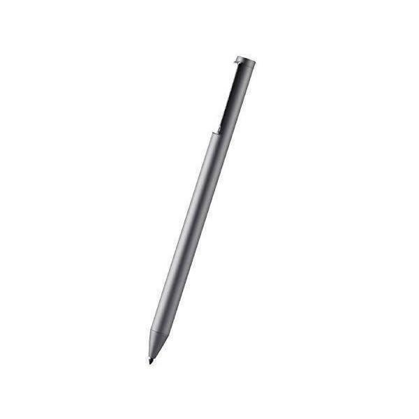 エレコム P-TPACSTAP01GY 卓抜 グレー アクティブタッチペン パームリジェクション対応 即納最大半額 充電式 ペン先交換可能