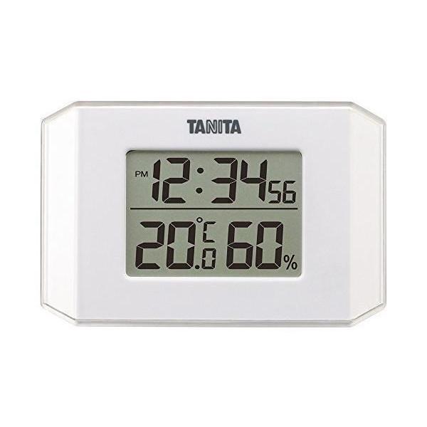 最安値に挑戦 タニタ TT-574-WH 温度計 休み 湿度計 デジタル デジタル温湿度計 ホワイト TANITA