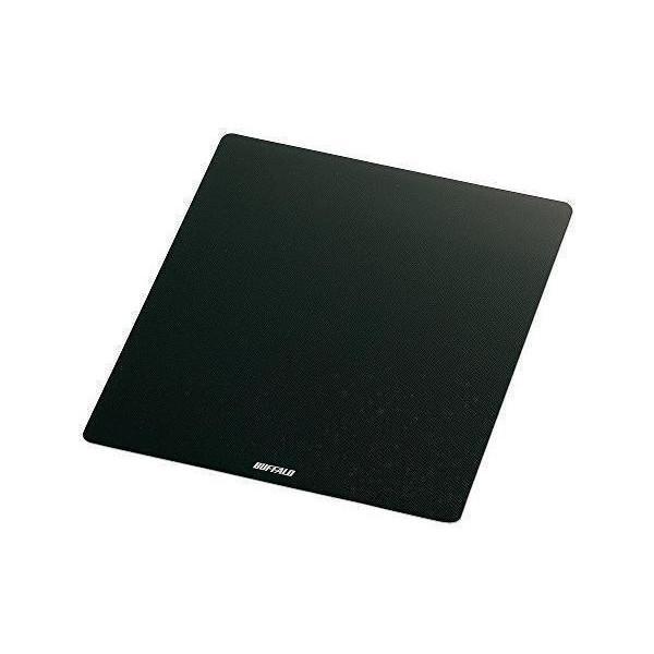 バッファロー 新作 大人気 BSPD10BK マウスパッド BUFFARO ブラック メタル調 通販 激安
