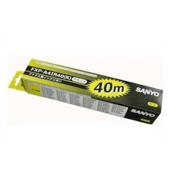 SANYO FXP-A4IR40 返品送料無料 K 三洋 新色追加して再販 FXPA4IR40 普通紙ファクシミリ用インクリボン 40mインクリボン 対応 SFX-BP505 HPK400 HPW40 HPW41 LP60 HP33WCL