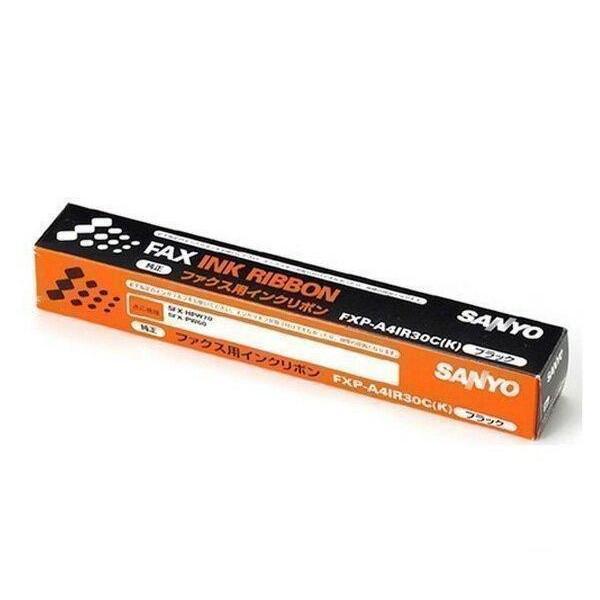 SANYO FXP-A4IR30C K 予約販売品 三洋 FXPA4IR30C 普通紙ファクシミリ用インクリボン 純正品 DT71 訳あり DW71 対応 SFX-HPW70 PW60 PS60