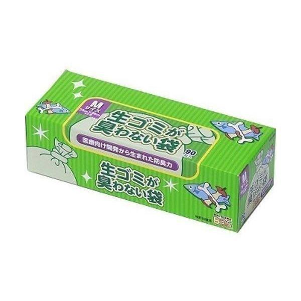 2個セット ボス 生ゴミが臭わない袋 Mサイズ 90枚 生ゴミ 訳あり商品 BOS 驚異の防臭袋 ホワイト 激安価格と即納で通信販売 処理袋