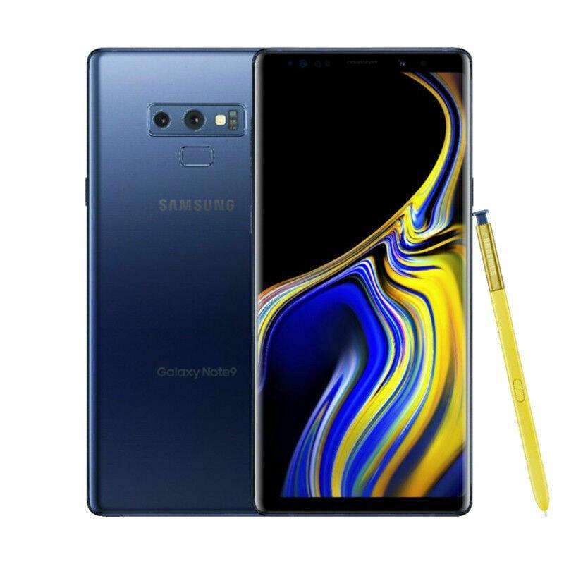 (新品) 海外SIMフリー Samsung Galaxy Note9 N960U SIMフリースマートフォン 128GB ブルー(Ocean Blue) 国際送料無料 bestsupplyshop