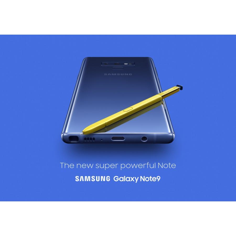 (新品) 海外SIMフリー Samsung Galaxy Note9 N960U SIMフリースマートフォン 128GB ブルー(Ocean Blue) 国際送料無料 bestsupplyshop 03