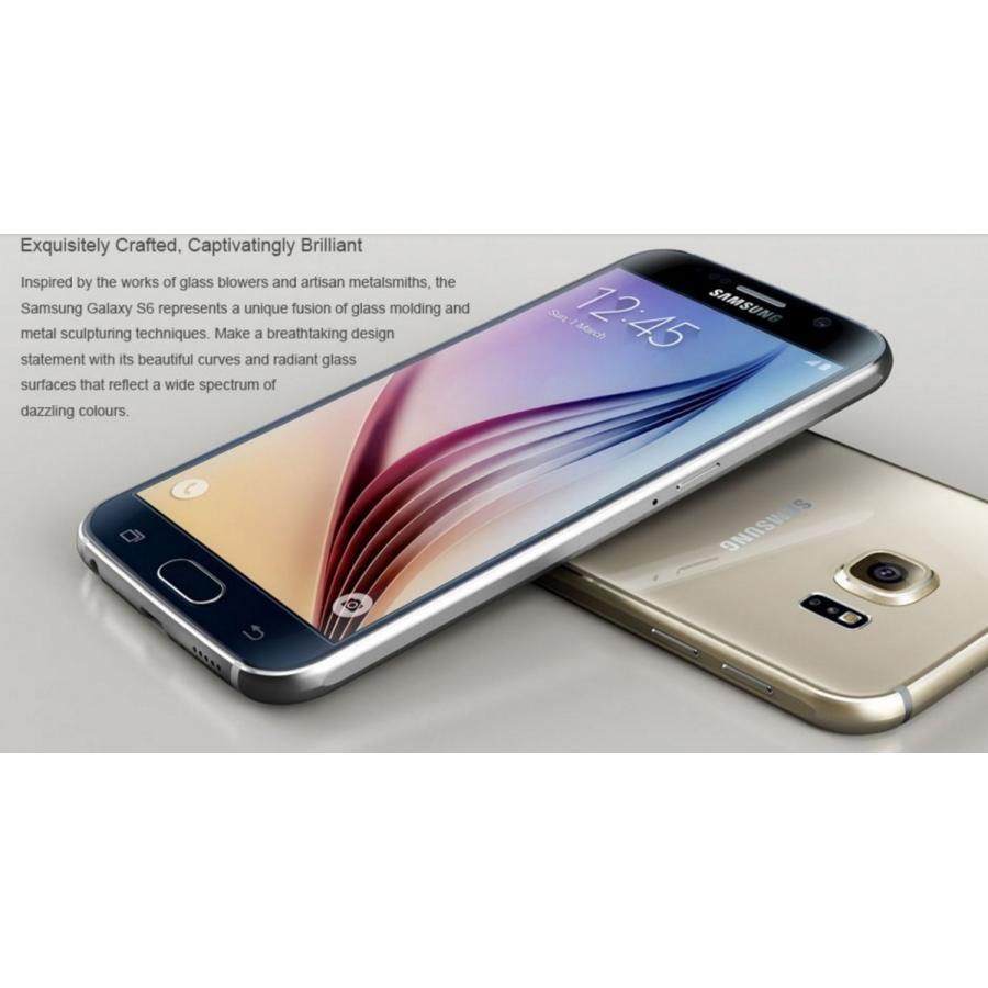 (再生新品) 海外SIMフリー Samsung GalaxyS6 G920 32GB 黒ブラック シムフリースマートフォン simフリー galaxy s6 国際送料無料|bestsupplyshop|02