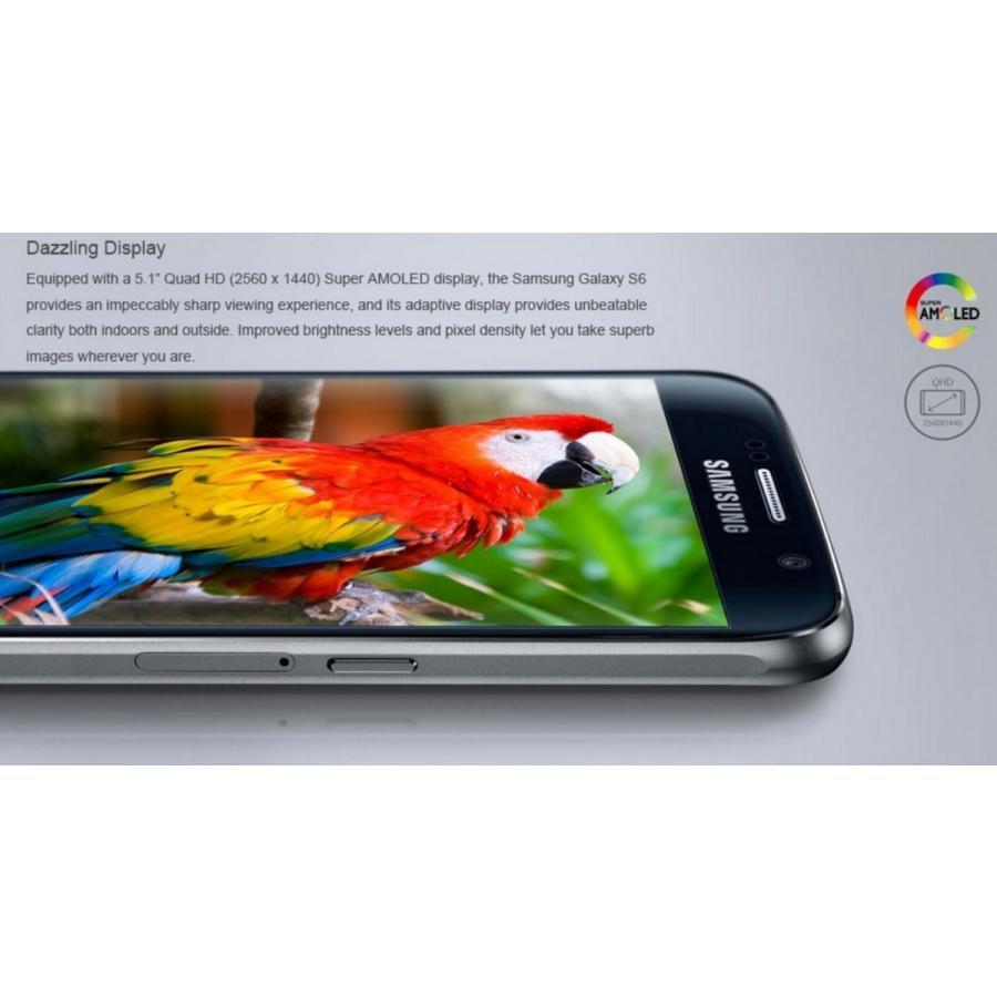(再生新品) 海外SIMフリー Samsung GalaxyS6 G920 32GB 黒ブラック シムフリースマートフォン simフリー galaxy s6 国際送料無料|bestsupplyshop|04