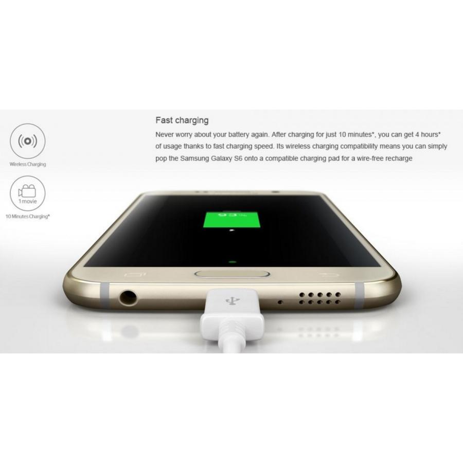 (再生新品) 海外SIMフリー Samsung GalaxyS6 G920 32GB 金ゴールド シムフリースマートフォン simフリー galaxy s6 国際送料無料 bestsupplyshop 03