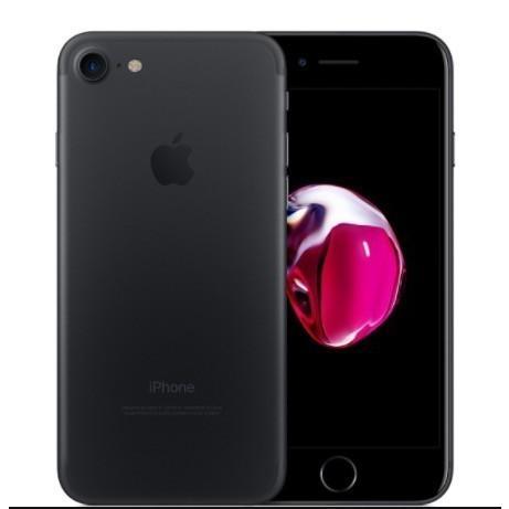 [再生新品] 海外SIMシムフリー版 Apple iPhone7 256GBマットブラック黒 / 送料無料