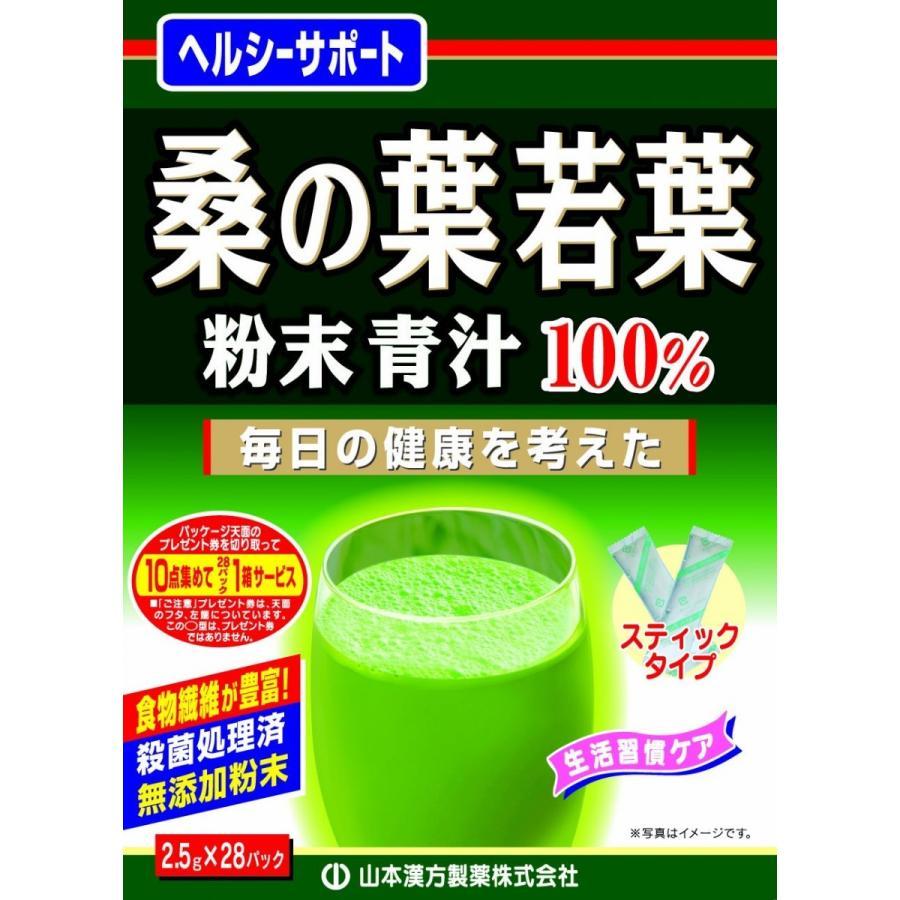 毎週更新 山本漢方 人気商品 桑の葉若葉 粉末 青汁 ポイント消化 外箱 送料無 開封 650