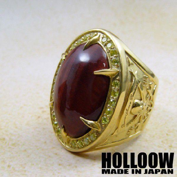 最新のデザイン HOLLOOW ブラックベアード HOLLOOW リング/ゴールド, GOODLUCK jewelry:34db1bdc --- airmodconsu.dominiotemporario.com