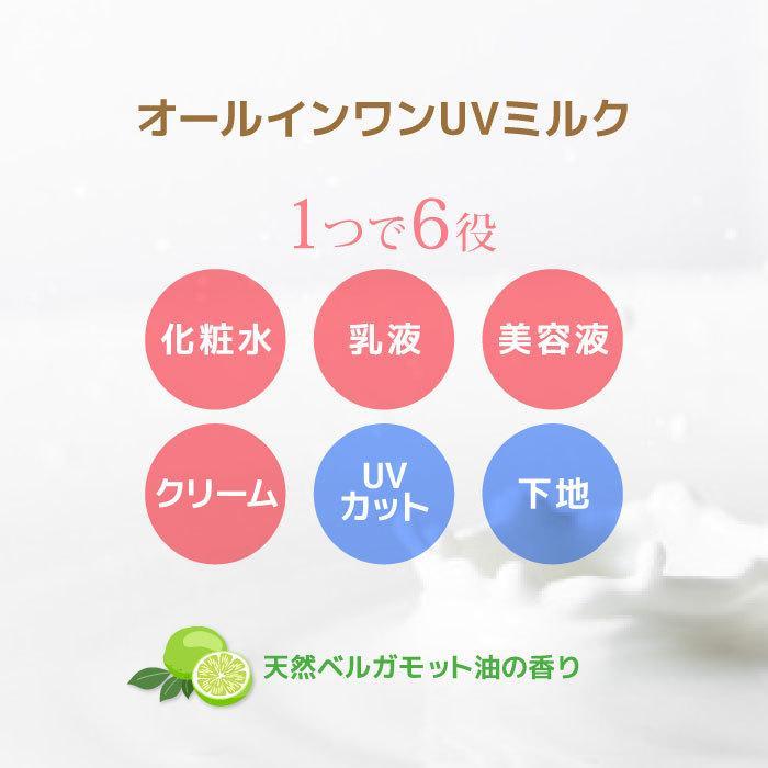 Be You オールインワンUVミルク 30ml SPF23PA+++日焼け止め ノンケミカル 無添加 日本製 温泉|beyou|11