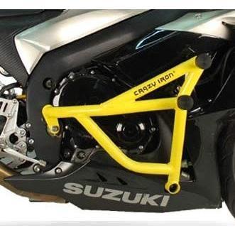 スズキ GSXR1000 2009-2016 クラッシュバー スタントケージ エンジンガード ダンパースライダータイプ