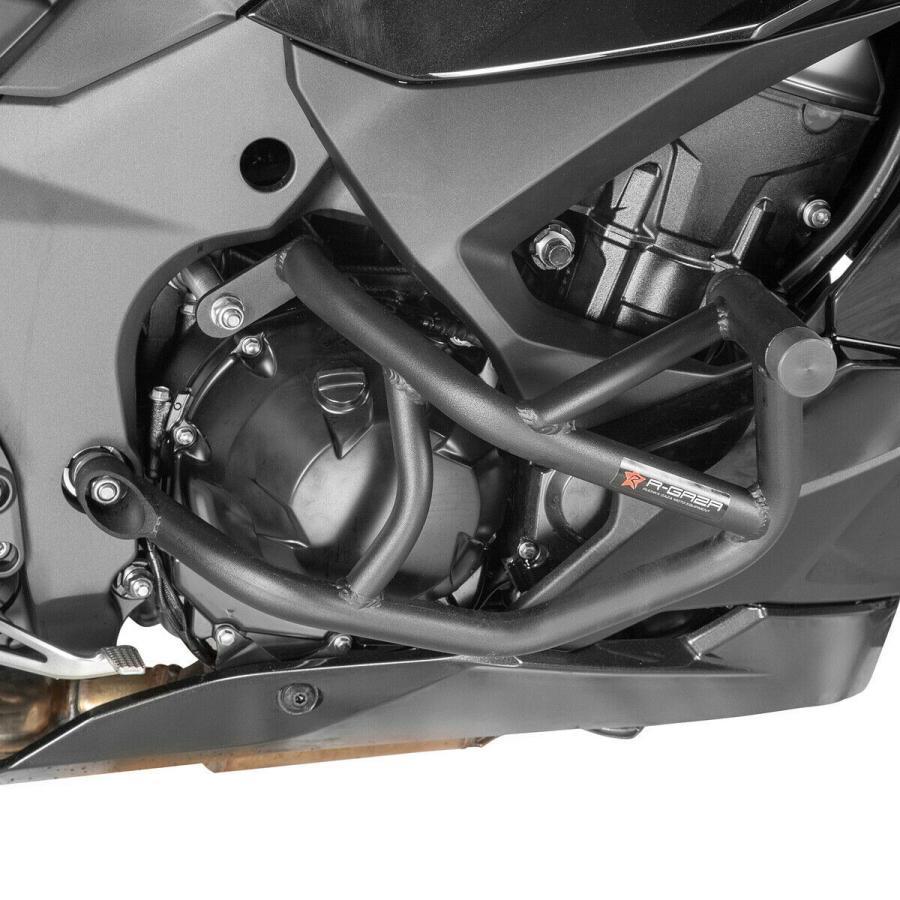 Z1000SX NINJA 1000SX 2020-2021 クラッシュバー スライダー カワサキ 超歓迎された 2020 新作 R-GAZA スタントケージ エンジンガード