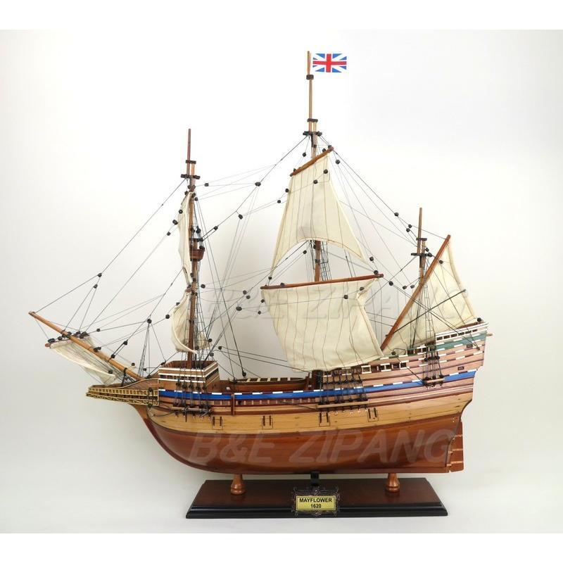 Mayflower メイフラワー号 モデルシップ 28インチ 完成品