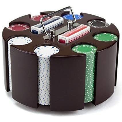 アメリカのカジノ用品メーカーBrybelly ポーカーチップセット 木製ケース付 感謝価格 送料0円 200枚