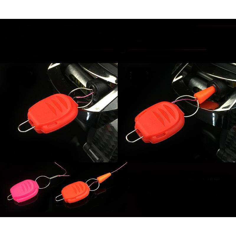 キャップ付き ラインストッパー 新色入 高品質 6色 ラインキーパー ベイトリール ライン ストッパー ホルダー キーパー 糸のすり抜け防止 ポイント消化|bfshonpo|06
