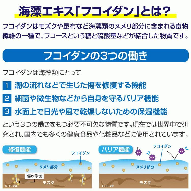 フコイダン 吸収5倍 フコイダンライフ・ナノ 1.4g×60包 沖縄フコイダン 低分子 高分子 730mg ガニアシ|bh-labo24|03