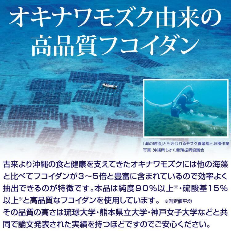 フコイダン 吸収5倍 フコイダンライフ・ナノ 1.4g×60包 沖縄フコイダン 低分子 高分子 730mg ガニアシ|bh-labo24|09