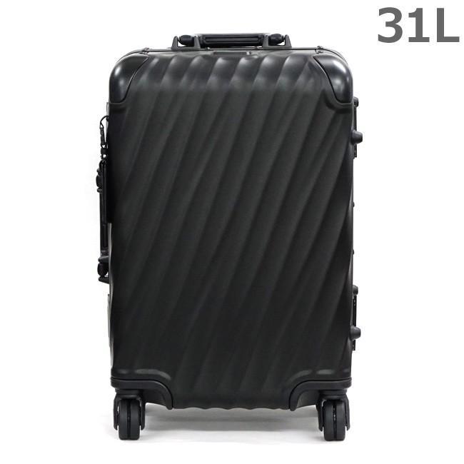 TUMI トゥミ 36860MD2 マットブラック 19 DEGREE ALUMINUM インターナショナル・キャリーオン 31L 4輪 キャリーケース 旅行かばん スーツケース