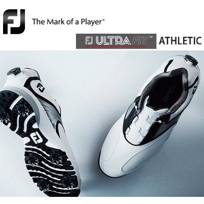 新しいスタイル 2018 Footjoy ULTRA ULTRA ATHLETIC FIT FIT ATHLETIC ゴルフシューズ(フットジョイ), 小倉南区:f3012c50 --- airmodconsu.dominiotemporario.com