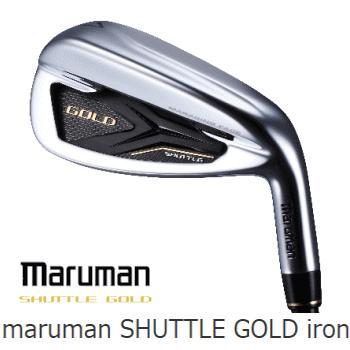【送料無料 / プレゼント付】maruman SHUTTLE GOLD iron 4本セット(7-9,PW)(マルマン シャトル ゴールド ユーティリティ)FUBUKI SG200