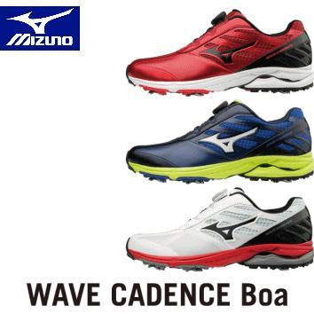 【送料無料】MIZUNO WAVE CADENCE ウエーブケイデンス ボア ゴルフシューズ 51GM1870(ミズノ)