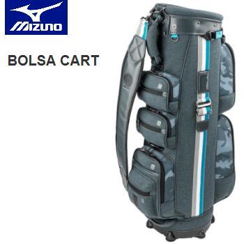 【内祝い】 【ネームプレート刻印サービス】MIZUNO BOLSA CART キャディバッグ [メンズ] 5LJC191400 (9.5型・3.6kg), 野田町 6f2a0d74