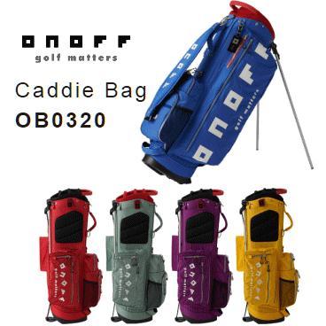 【ネームプレート刻印サービス】ONOFF Caddie Bag OB0320(オノフ キャディバッグ/ 9型 2.7kg)