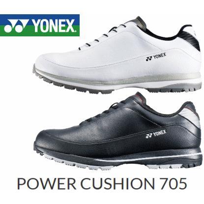 【送料無料】YONEX SHG-705 POWER CUSHION 705 ゴルフシューズ(ヨネックス パワークッション705 3.5E)
