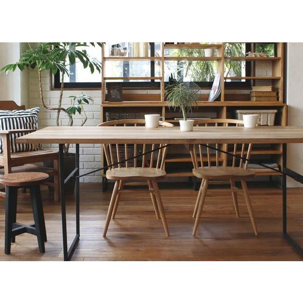 アデペシュ a depeche スプレム ダイニング テーブル 1600 splem dining table 1600 SPM-DNT-1600 オーク無垢材家具 アイアン 食卓テーブル bicasa 02