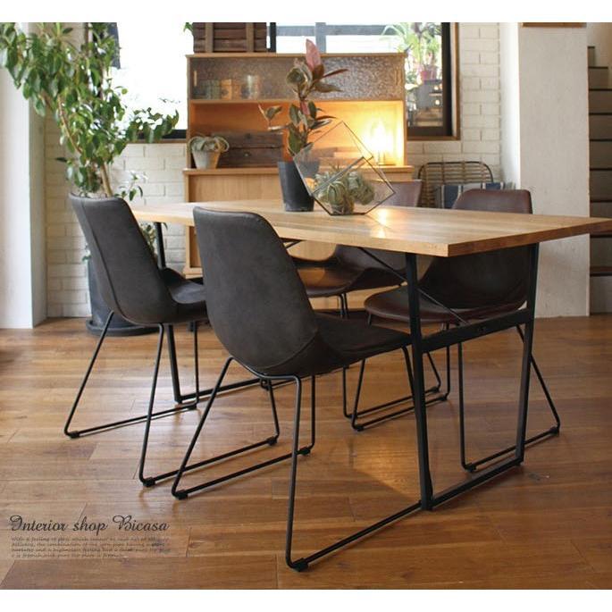 アデペシュ a depeche スプレム ダイニング テーブル 1600 splem dining table 1600 SPM-DNT-1600 オーク無垢材家具 アイアン 食卓テーブル bicasa 08