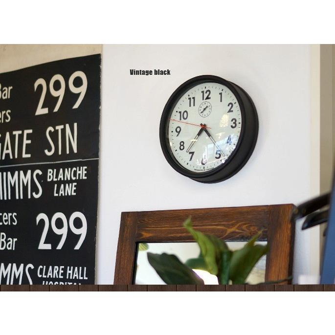 ビメイクス BIMAKES 掛け時計 壁時計 オシャレ ハンフォードウォールクロック アナログ スィープムーブメント スチール製 あすつく bicasa 11